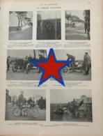 1903 LA SEMAINE D'OSTENDE - COURSE AUTOMOBILE - VOITURE DARRACQ - CORRE - GOBRON BRILLÉ - PASSY THELLIER - Livres, BD, Revues