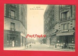 92 Hauts De Seine BECON La Rue De Strasbourg - Autres Communes