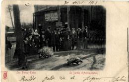75 Paris Kunzli Jardin D'Acclimatation 1903 Les Porcs-Epics - Parcs, Jardins