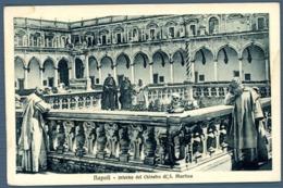 °°° Cartolina - Napoli Interno Del Chiostro Di S. Martino Nuova °°° - Napoli
