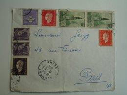 Lettre Timbre Obliteration Tardive  Beffroi Arras Marianne Dulac - 1961-....