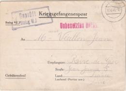 Correspondance Prisonnier De Guerre Lettre Stalag VI J 12/6/1941 à Rive De Gier Loire  - Censure - Poststempel (Briefe)