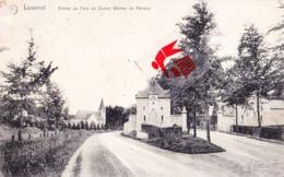 LOVERVAL - Entrée Du Parc Du Comte Werner De Mérode - Gerpinnes