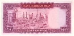 PERSIA P.  91b 100 R 1971 UNC - Iran