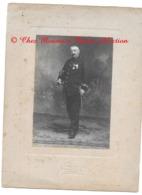 PERPIGNAN - CAPITAINE LEGION D HONNEUR OFFICIER PALMES ACADEMIQUES - PHOTO JOURRE SUPPORT 24X18 CM PYRENEES ORIENTALES - Guerre, Militaire