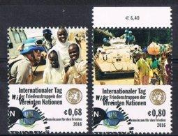2016 - O.N.U. / UNITED NATIONS - VIENNA / WIEN - ANNO INTERNAZIONALE DELLE FORZE DI PACE ONU / PEACEKEEPING. USATO - Vienna – International Centre