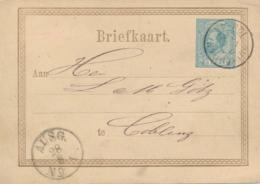 Nederland - 1876 - 5 Cent Willem III, Briefkaart G11 Van Rotterdam Naar Coblenz / Deutschland - Material Postal