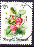 Österreich Austria Autriche - Ananas-Erdbeeren (Fragaria Ananassa) (MiNr: 1223) 1966 - Gest Used Obl - 1961-70 Oblitérés