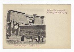CPA - Égypte - Haute Égypte - Louxor - Médinet Abou - Entrée Du Temple - Luxor