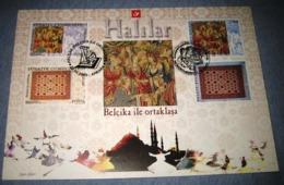 Herdenkingskaart - Carte-souvenir Turkije 3413 HK België 2005 - Souvenir Cards