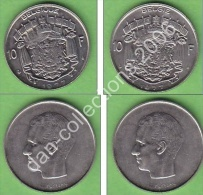 *BAUDOUIN *** 10 FRANCS FRANCAISE + 10 FRANCS FLAMANDE***ANNEE 1977 - 1951-1993: Baudouin I