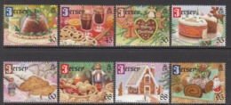 2013  Jersey Christmas Noel Navidad Complete Set Of 8 MNH @ 70% Of Face Value - Jersey