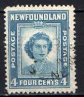NEWFOUNDLAND - 1947 - 21° COMPLEANNO DELLA PRINCIPESSA ELISABETTA - USATO - 1865-1902