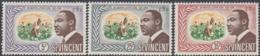 St. Vincent 1968 - Commemoration Of Martin Luther King - Mi 238-240 ** MNH - St.Vincent (...-1979)