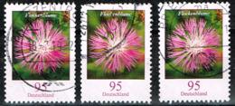 Bund 2019,Michel# 3470 O Blumen: Flockenblume - BRD