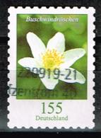 Bund 2019,Michel# 3484 O Blumen: Buschwindröschen, Selbstklebend - BRD