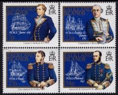 Falkland Islands - 1985 - 18-19th Century Naval Explorers - Mint Stamp Set - Falkland Islands