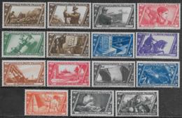 Italia Italy 1932 Regno Decennale Marcia Su Roma 15val Sa N.325-339 Nuovi MH * - Nuovi