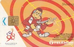 MALASIA. SPORTS. Kuala Lumpur '98 -Shooting. 5RM. 1998. MLS-C-BL. (035) - Sport
