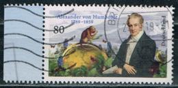 Bund 2019,Michel# 3492 O 250. Geburtstag Von Alexander Von Humboldt - BRD