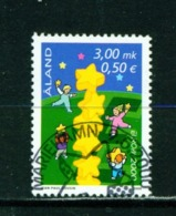ALAND  -  2000 Europa 3m Used As Scan - Aland
