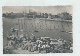 Ile-de-Batz (29) : Chargement à L'embarcadère  Des Bateaux Pour L'expédition Des Primeurs En 1950 (animé) GF. - Ile-de-Batz