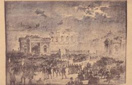 Brussel, Bruxelles, La Porte De Namur Au Moment De L'Ablition De L'octroi 1860 (pk62836) - Bauwerke, Gebäude