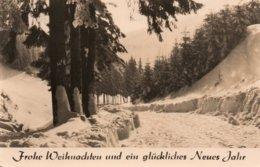 GERMANY-FROHE WEIHNACHTEN UND EIN GLUCKLICHES NEUES JAHR-1965-REAL FHOTO - Altri