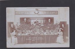 St James Hall, Harvest Thanksgiving, Croydon 1913.     RPPC.   (D275). - Surrey