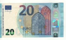 20 EURO   Firma DRAGHI    E 004 C4    EC0393930368  /  FDS - UNC - EURO