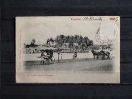 F15 - Ceylon - On Lake Road - Colombo - 1905 - Sri Lanka (Ceylon)