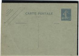 LCTN58/2 - FRANCE  CP SEMEUSE CAMEE 40c DATE 021NEUVE - Standard- Und TSC-AK (vor 1995)