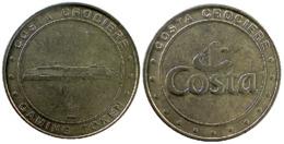 00519 GETTONE TOKEN JETON FICHA GAMING CASINO COSTA CROCIERE - Casino