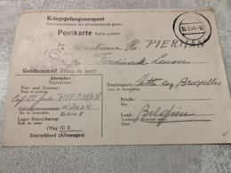 "Correspondance  Des Prisonniers De Guerre "" Offlag III B "" 15 01 1941 - Postmark Collection"