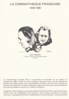 FRANCE - LA CINEMATHEQUE FRANCAISE 1986  / TBS - Timbres