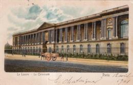 LE LOUVRE LA COLONNADE PARIS 1901 - Louvre