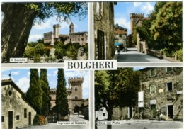 BOLGHERI  CASTAGNETO CARDUCCI  LIVORNO  Vedutine  Castello  Casa Del Poeta Giosuè Carducci - Livorno