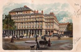 THEATRE FRANCAIS PARIS 1901 - Francia