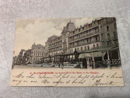 Blankenberghe Le Grand Hotel Des Bains Et Des Familles 1902 - Blankenberge