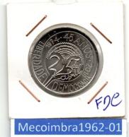 RP.E. 05 - República Portuguesa 5 Euros 2019 FDC - 1974 45 Anos Liberdade Demorcracia - Portugal