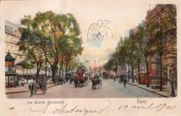 LES GRANDS BOULEVARDS PARIS 1901 - Francia