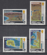 C 002 ) Free Shipping To // Jersey Community Issues Europe CEPT 1982 **/MNH Historical Events - 1982