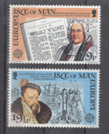 C 002 ) Free Shipping To // Isle Of Man Community Issues Europe CEPT 1982 **/MNH Historical Events - 1982