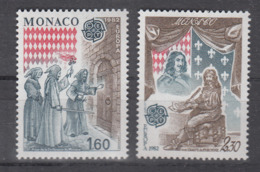 C 002 ) Free Shipping To // Monaco  Community Issues Europe CEPT 1982 **/MNH Historical Events - 1982
