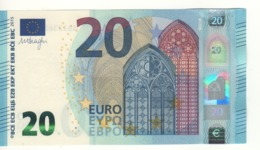 20 EURO    Firma DRAGHI    S 008 B5      SB2236227331  /  FDS - UNC - EURO