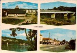 Dep 77 , Cpm PONTHIERRY , Divers Aspects De La Ville , Multivues (12591) - Andere Gemeenten