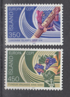 C 002 ) Free Shipping To // Island Community Issues Europe CEPT 1982 **/MNH Historical Events - 1982