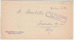 Latvia 1940 - Slogan Postmark On Printed Matter Cover: Forestry Brings Good Income - Hofmann #51 - Lettland