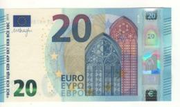 20 EURO    Firma DRAGHI    S 009 D1      SF4078921104  /  FDS - UNC - EURO
