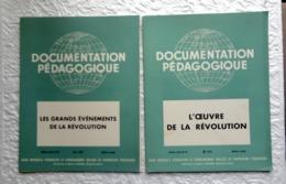 2 Revues Documentation Pédagogique  1956 - 27 X 21 Cm - LA REVOLUTION - Andere